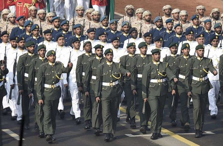 UAE is 2nd country after France to send troops to participate in R-Day parade
