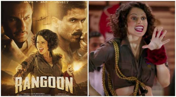 Kangana Ranaut Live: Love stories come every week but 'Rangoon' is different