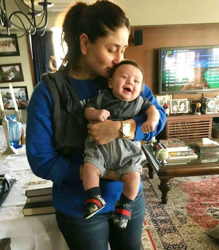 India Tv - Kareena with Taimur