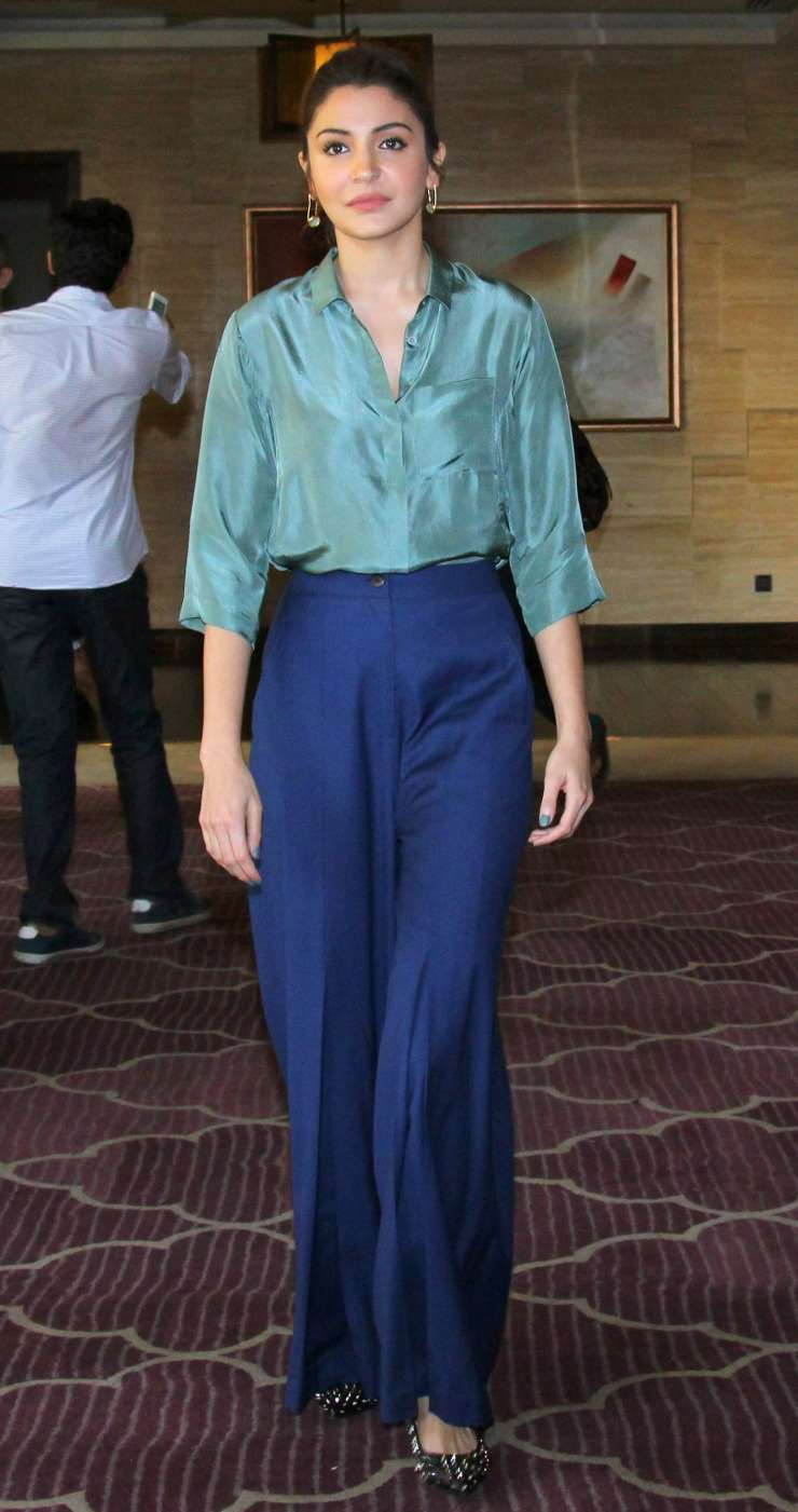 India Tv - Anushka Sharma at JW Marriot