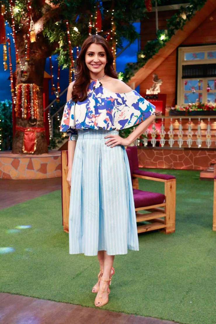 India Tv - Anushka Sharma at The Kapil Sharma Show