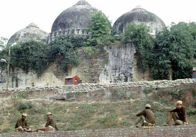 India Tv - File pic of Babri Masjid