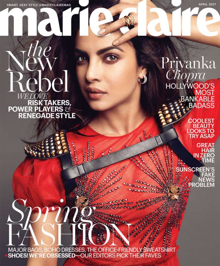 India TV - Marie Claire April 2017 cover