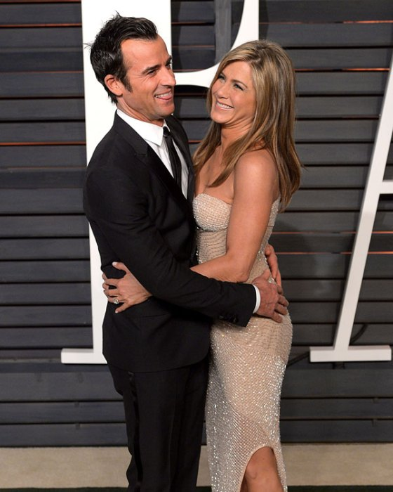 India TV - Jennifer Aniston and Justin Theroux in Oscars 2017 after party