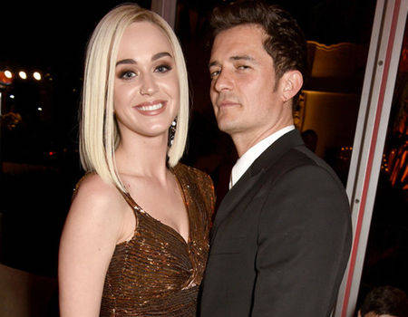 India TV - katy perry and orlando bloom at post-oscars party 2017