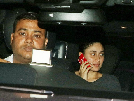Too cute to handle pics: Kareena Kapoor takes son Taimur on his first outing