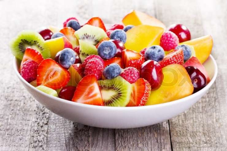 Gorge on berries and fresh fruits