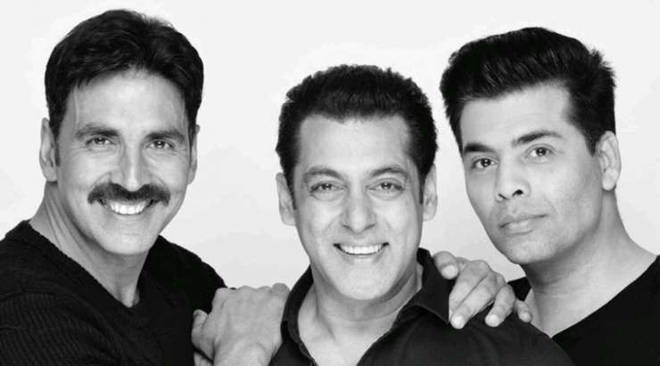 India TV - Salman, akshay, karan