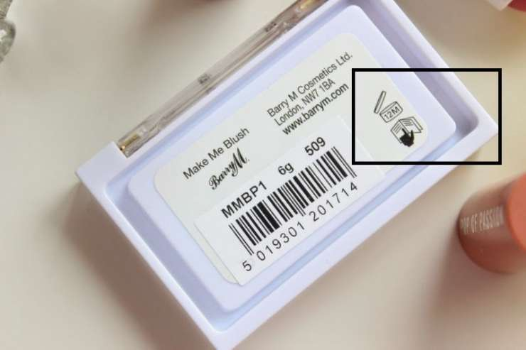There's a secret expiration date on your makeup products. Did you see it?