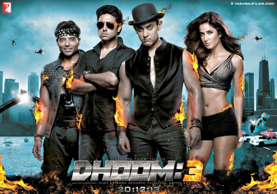 India Tv - Dhoom 3 poster