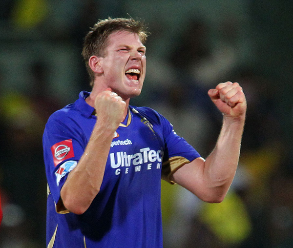 India Tv - Australian fast bowler James Faulkner