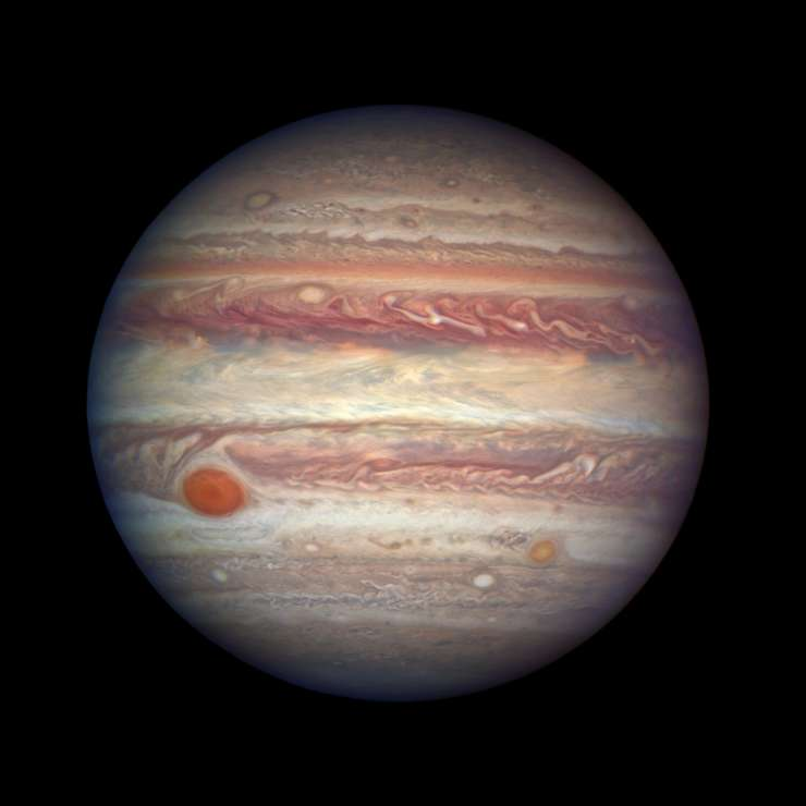 Portrait of Jupiter