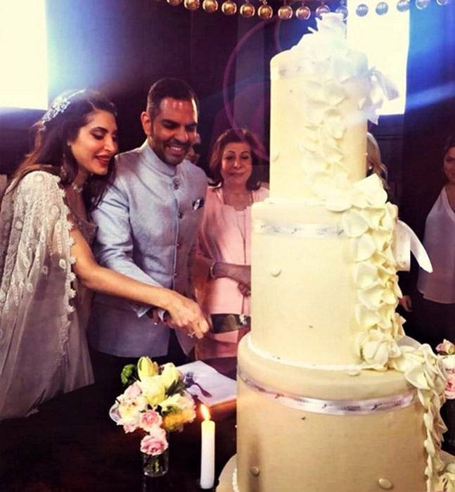 India Tv - Karisma's estranged husband Sunjay Kapur and Priya Sachdev's reception pics are