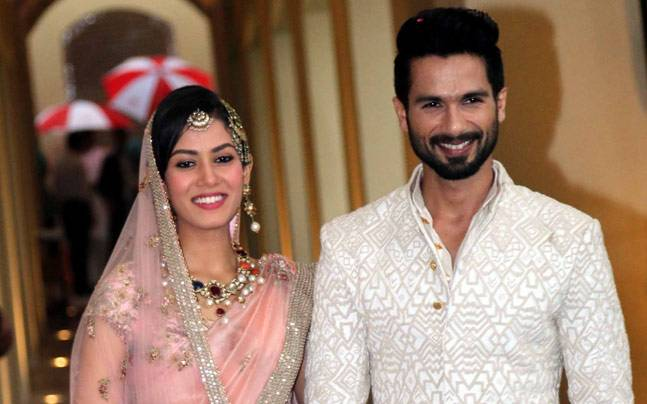 India TV - Mira Rajput, Shahid Kapoor