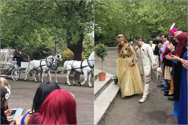 Sofia Hayat's wedding is like nothing we've ever seen before. See pics