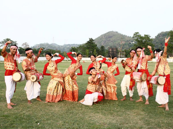 India Tv - Breath-taking pictures of Assam's most colourful festival Rongali Bihu