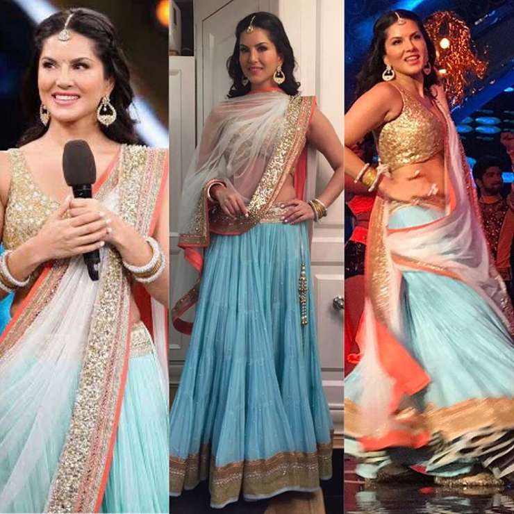 8 times Sunny Leone pulled off the ethnic attire like a true diva