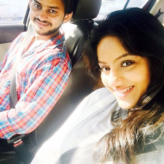 India TV - Deepika Singh with hubby