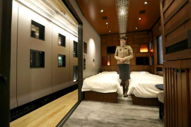 Have a snooze at your private suit at Shiki-Shima