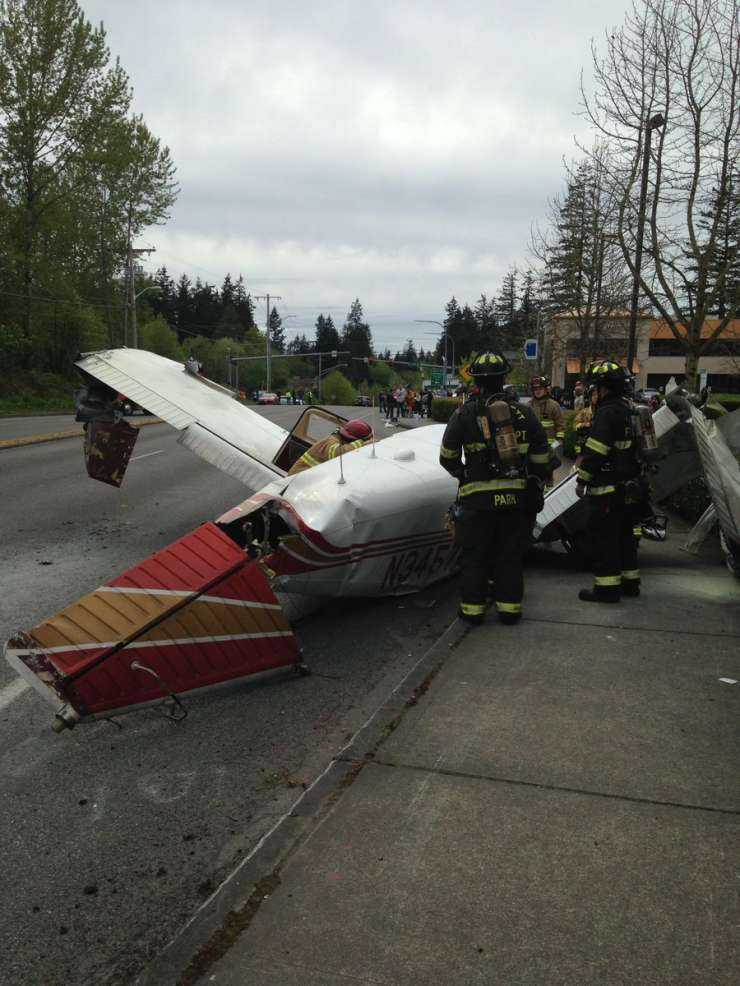 Plane down, no casualities reported