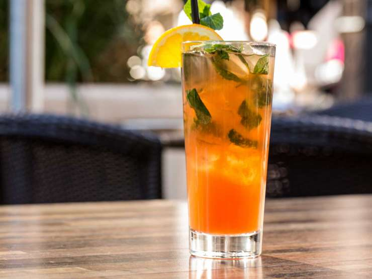 India Tv - orange mint mojito
