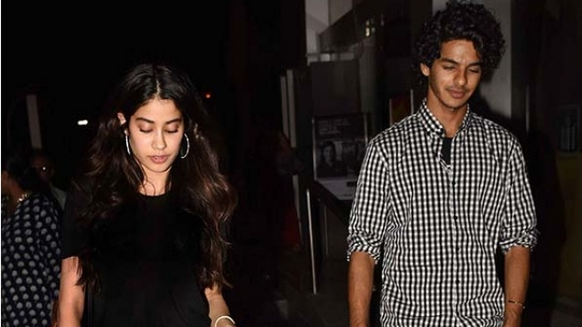 India TV - Jhanvi kapoor, Ishaan Kapoor