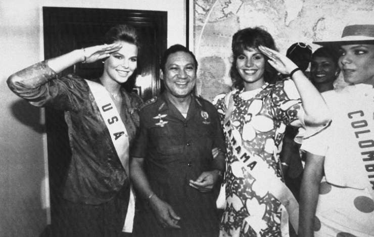 India Tv - Manuel Antonio Noriega's July 5, 1986 file photo in Panama City