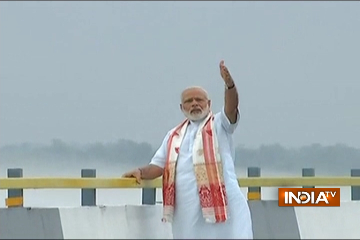 India TV - PM Modi inaugurates India