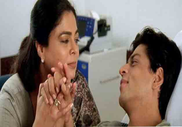 India TV - Reema Lagoo, SRK
