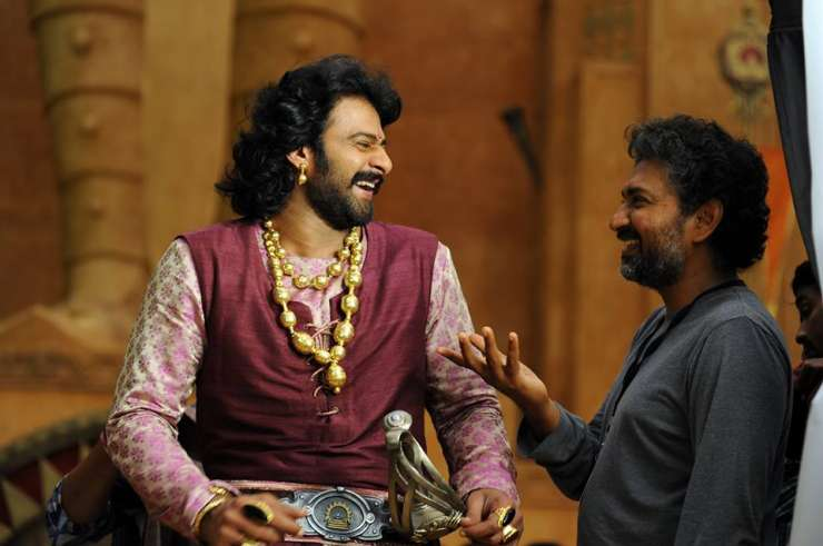 India TV - Baahubali with Rajamouli