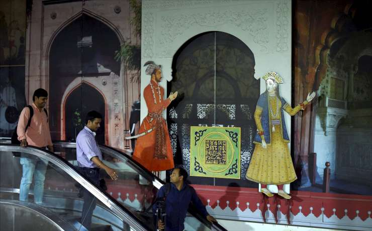 India Tv - Metro stations designed to display heritage of the area
