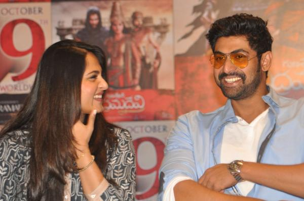 India TV - Anushka Shetty, Rana Daggubati