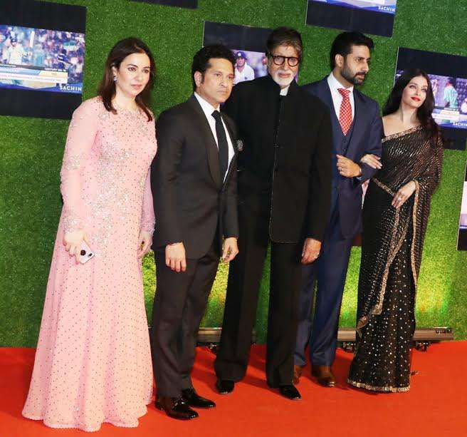 India TV - Sachin A Billion Dreams premiere