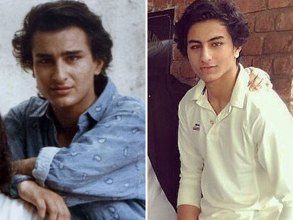 India Tv - Saif Ali Khan and his son Ibrahim Ali Khan