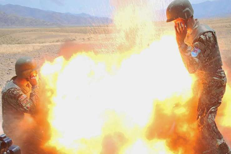 India TV - US Army photographer captures her own death in mortar explosion