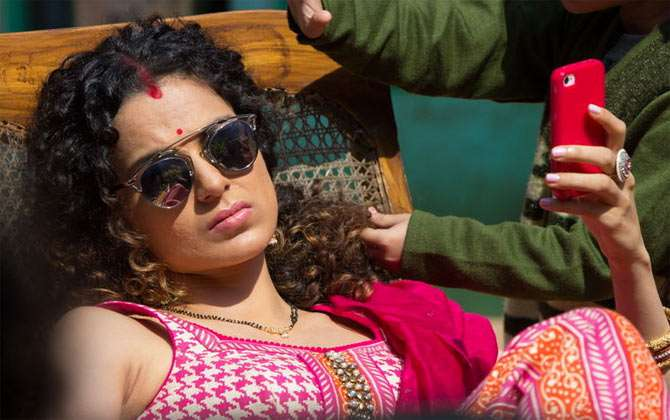 Kangana Ranaut tells how her struggles made her a quintessential bad girls