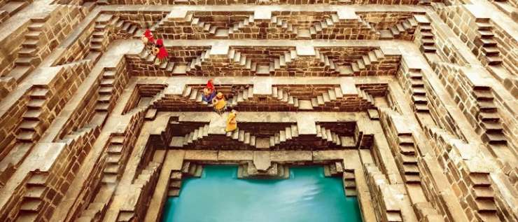 India TV - chand baori rajasthan