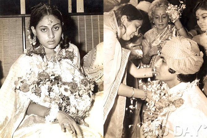 India Tv - Their wedding was a low key affair with few family members and friends