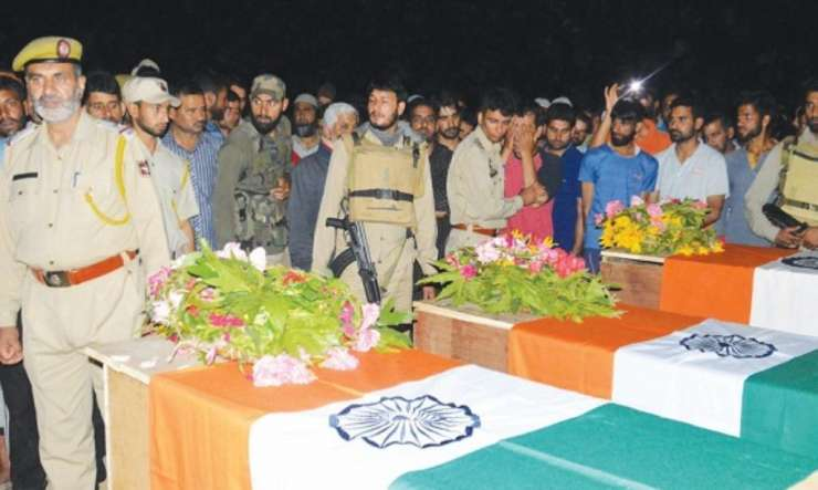 Achabal ambush: 'Just imagine youself in your grave', slain J&K cop Feroz Dar - India Tv
