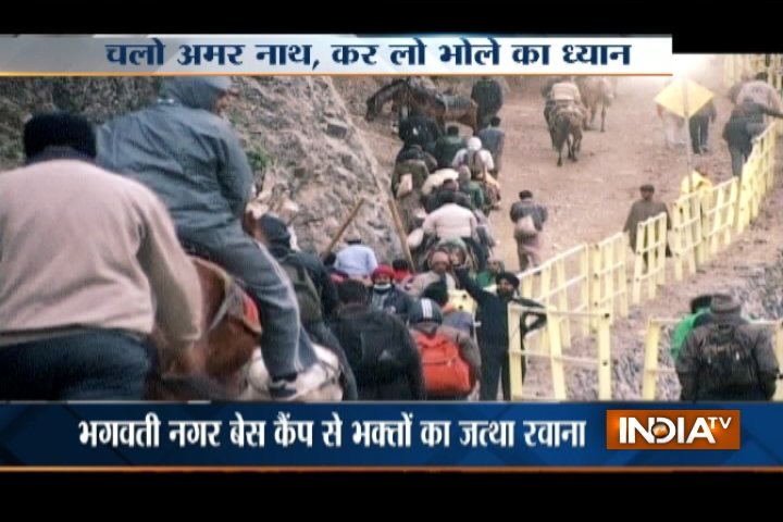 India TV - Amarnath Yatra