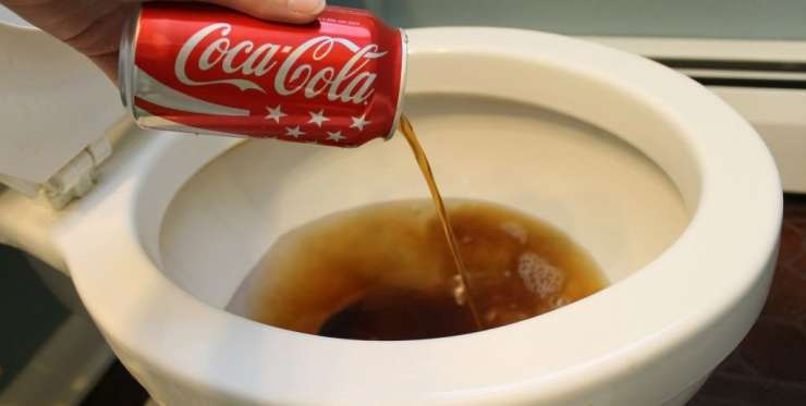 India Tv - Due to its acidic nature, Coca Cola can be used to clean toilets.