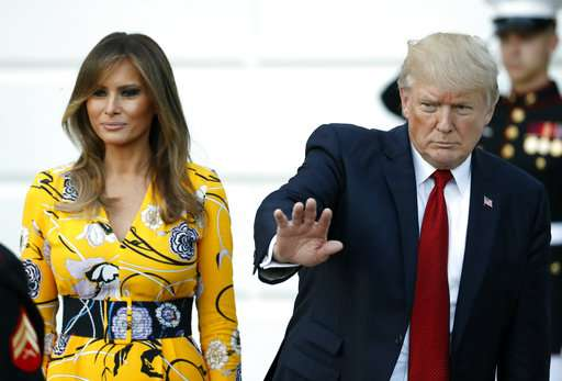 India TV - Melania Trump, Donald Trump