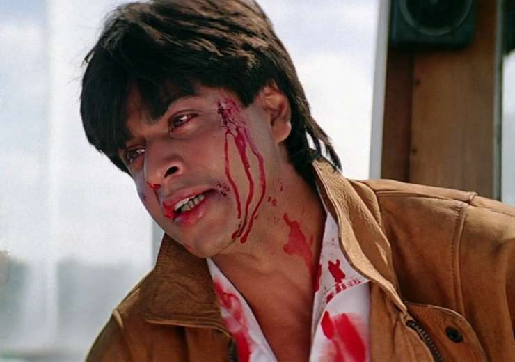 SRK played negative roles in movies like Darr, Anjaam and Baazigar