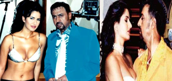 India Tv - Gulshan Grover and Katrina Kaif in Boom