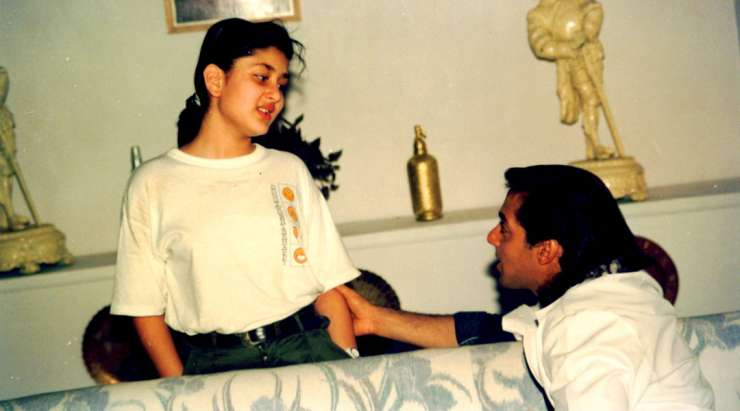 Salman Khan with Kareena Kapoor Khan
