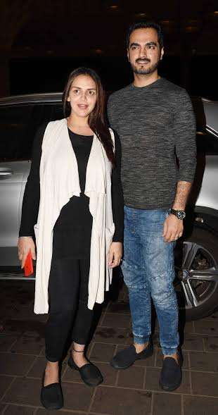 India Tv - Esha Deol and husband