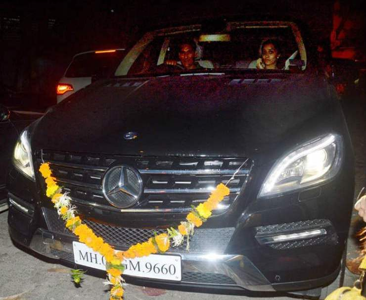 India Tv - Shraddha Kapoor in her Mercedes Benz ML 250