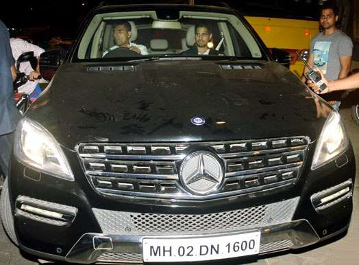 India Tv - Siddharth Malhotra in his Mercedes Benz ML 350