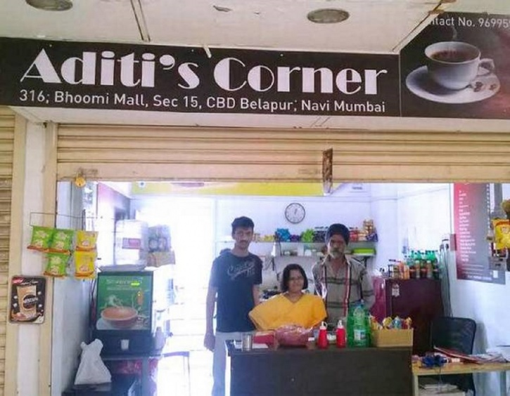Aditi's corner servers light snacks and delicious cupcakes