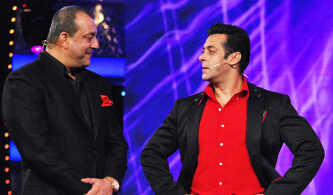 India TV - Salman and Sanjay Dutt